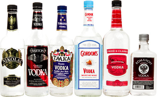 cheap vodka